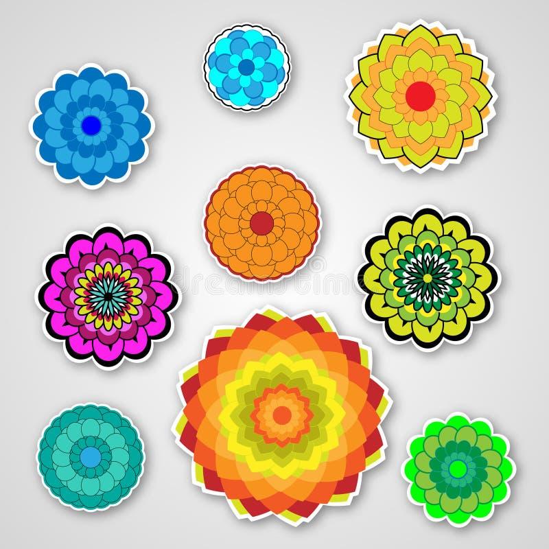 Vector colorido de la flor libre illustration