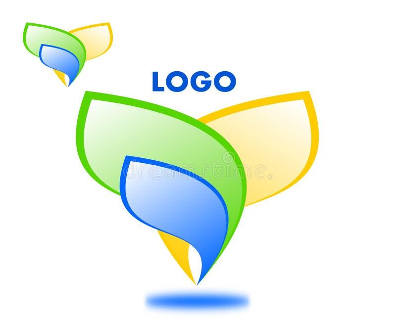 Drawing company logo. royalty free illustration