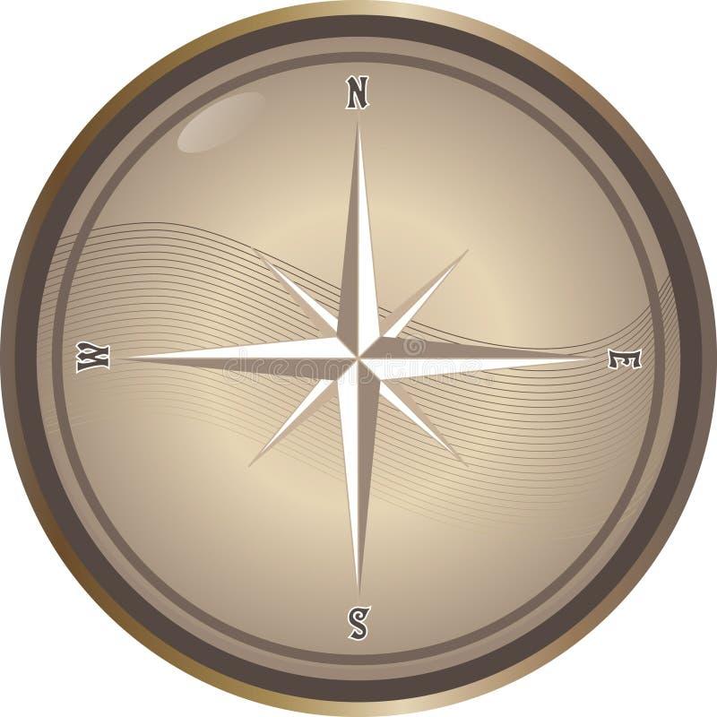 Download Vector compass stock vector. Image of classic, equipment - 10085662
