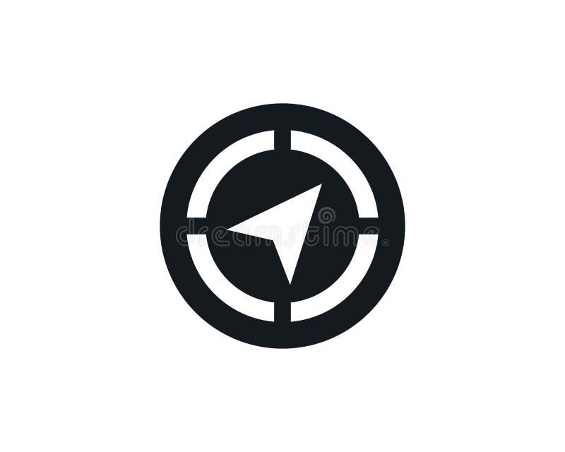 Vector - Compass signs and symbols logo vector illustration
