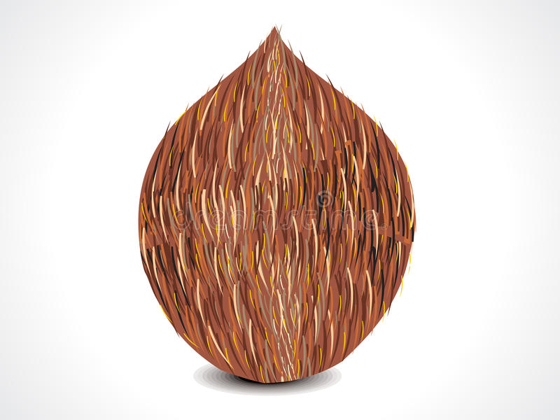 Download Vector complete coconut stock vector. Image of packaging - 26407236