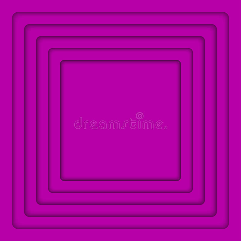 Vector Concentric Purple Square. Background. Vector Concentric Square Elements Background. Vector illustration. Background with Purple Violet Squares from royalty free illustration