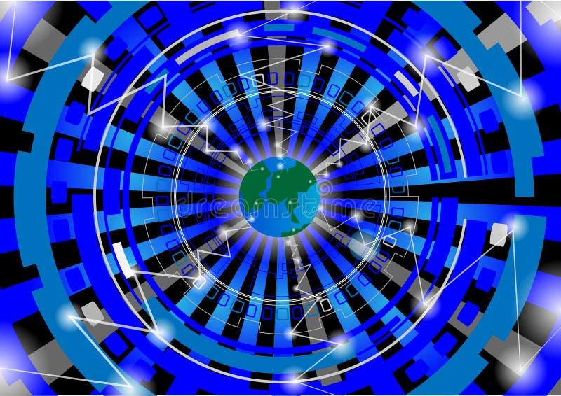 Vector - concepto de diseño del globo del mundo libre illustration