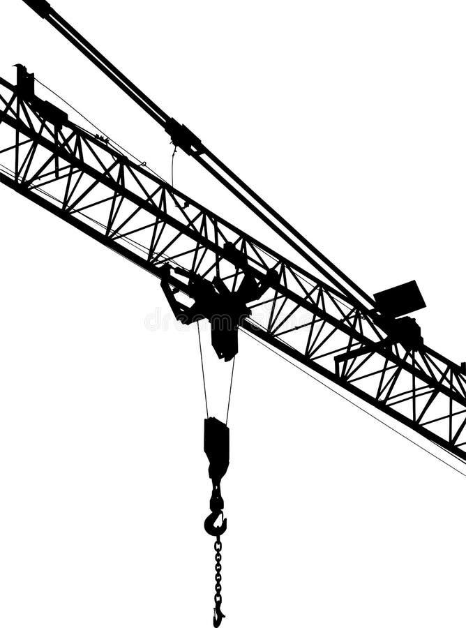 Vector construction silhouette
