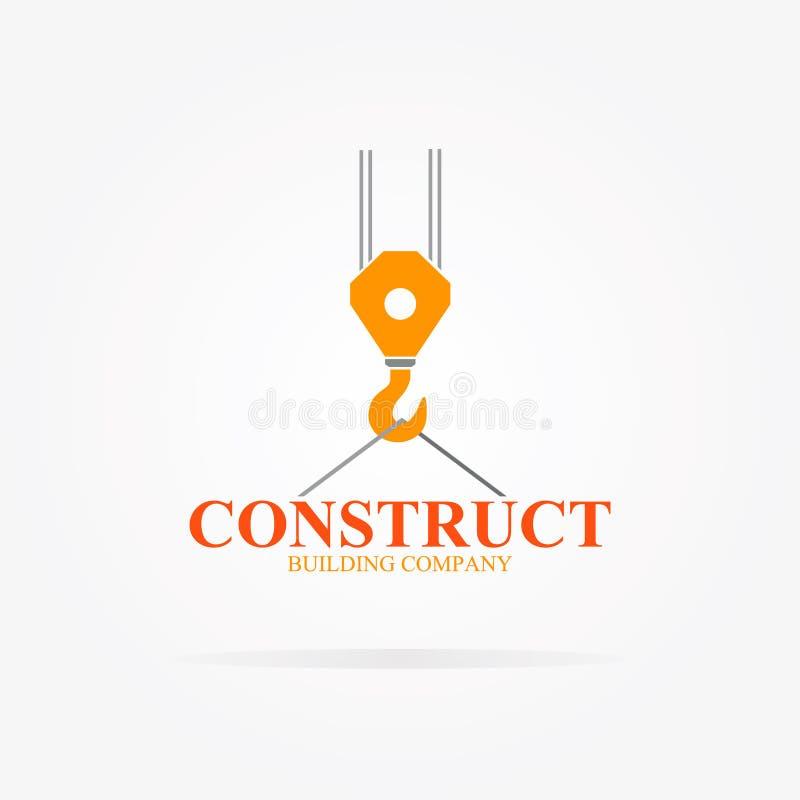 Vector crane logo for construction company stock vector download vector crane logo for construction company stock vector illustration of heavy logo reheart Image collections