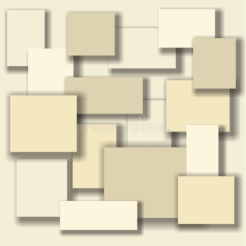 Vector Cream Background Stock Vector. Illustration Of