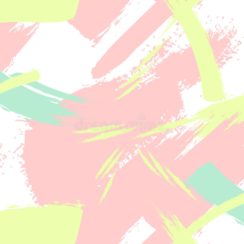 Download Vector Creative Pattern In Pastel Colors Brush Stroke Invitation Abstract Modern Background Fashion