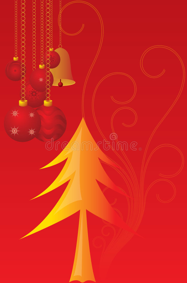 Download Vector cristmas candles stock vector. Image of tree, burning - 6140899