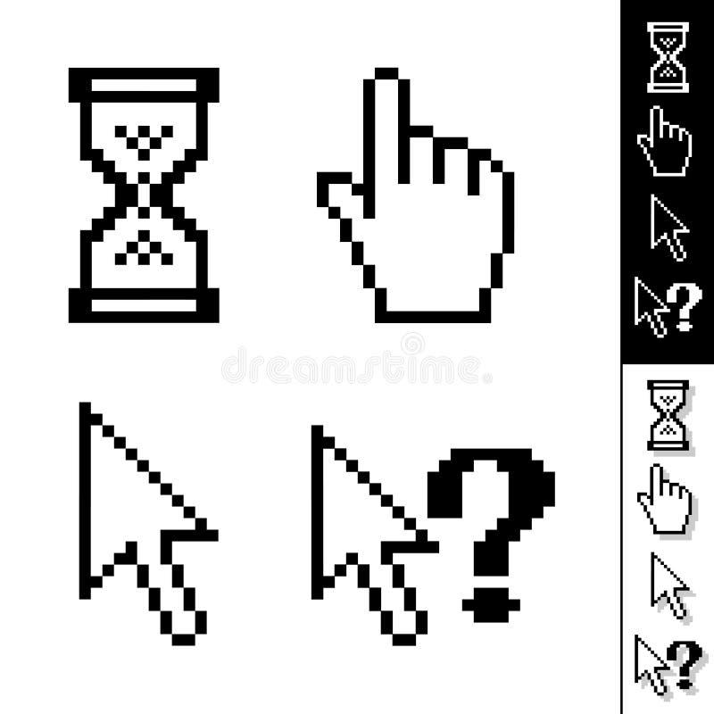 Vector cursors