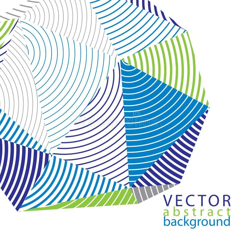 Vector 3d il contesto complicato, stile moderno di tecnologia digitale illustrazione vettoriale