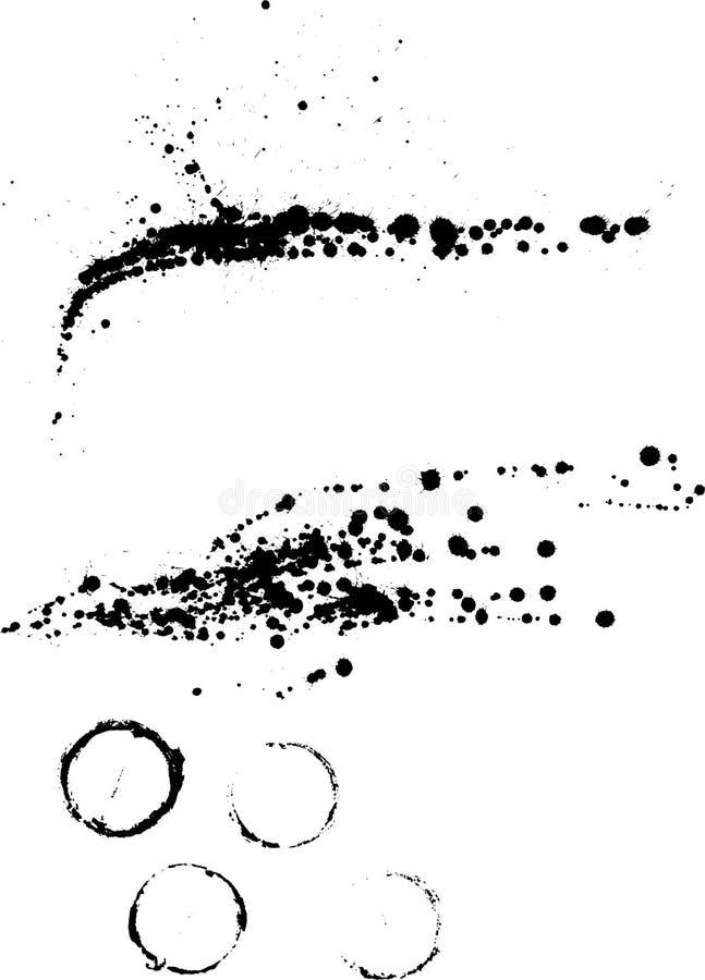 Vector dalingen vector illustratie