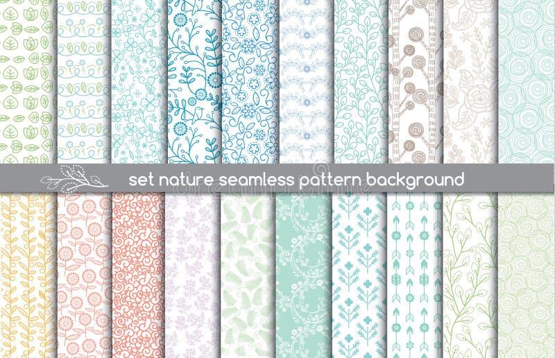 Vector damask seamless pattern background stock illustration
