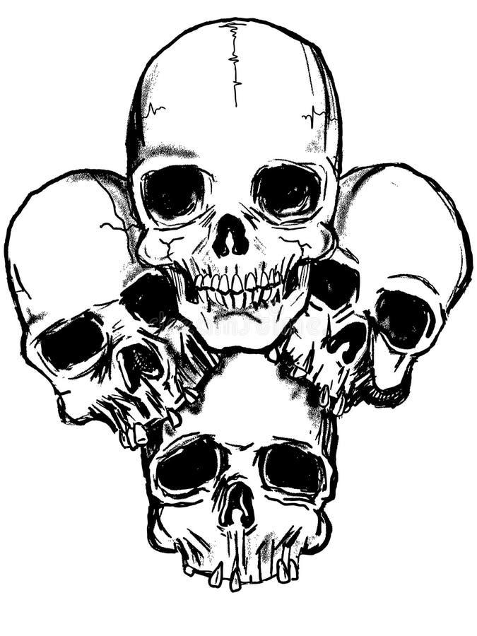 Vector Dark Art . Royalty Free Stock Image