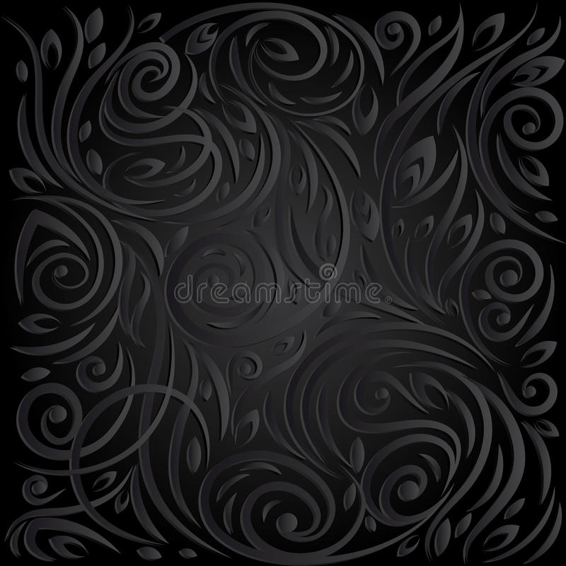 Vector dark Background. stock illustration