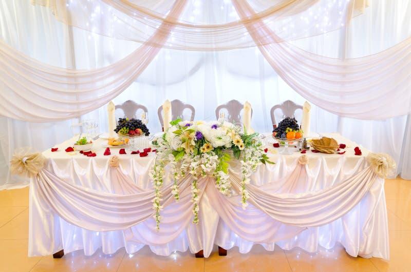 Vector de banquete de la boda foto de archivo libre de regalías