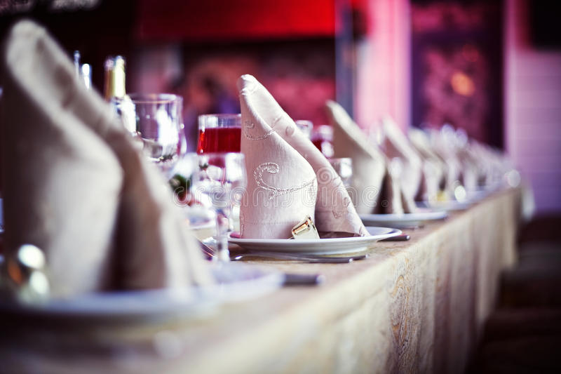 Vector de cena de boda fotos de archivo libres de regalías