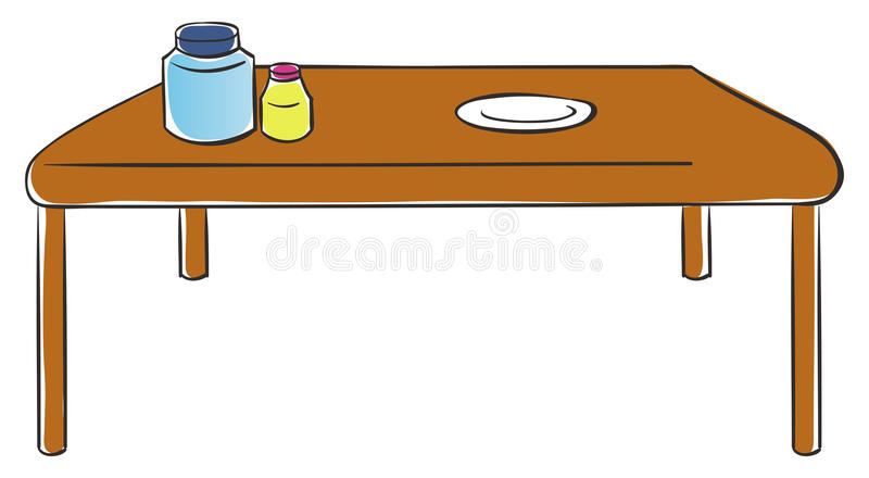 Vector de cocina ilustración del vector
