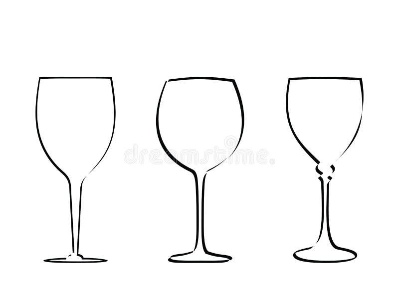 Vector de cristal 2 del vástago libre illustration