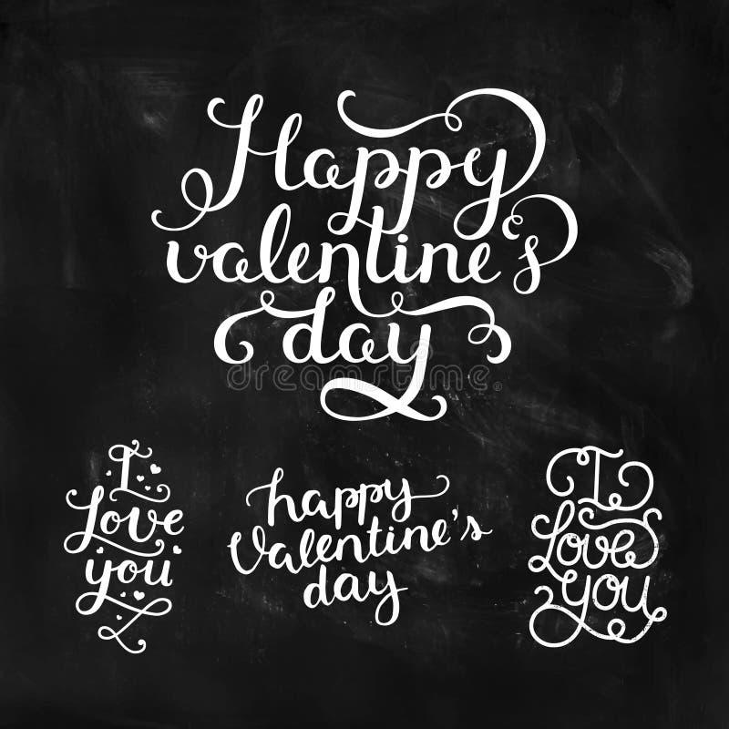 Vector de fotobekledingen van de Valentijnskaartendag stock illustratie