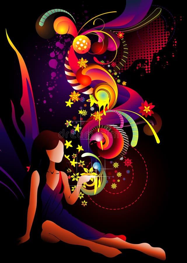 Vector de hadas del color libre illustration