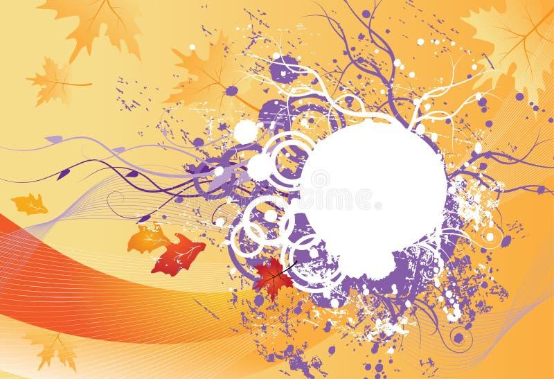Vector de herfstillustratie vector illustratie