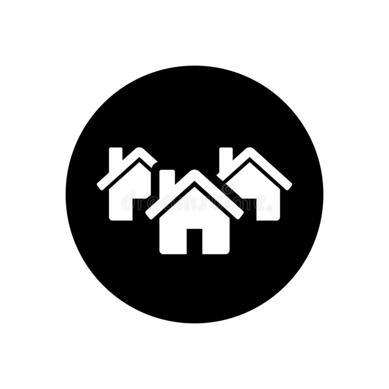 Vector de icono de diagrama de realidad signo de ilustración de corporación símbolo de apartamento libre illustration