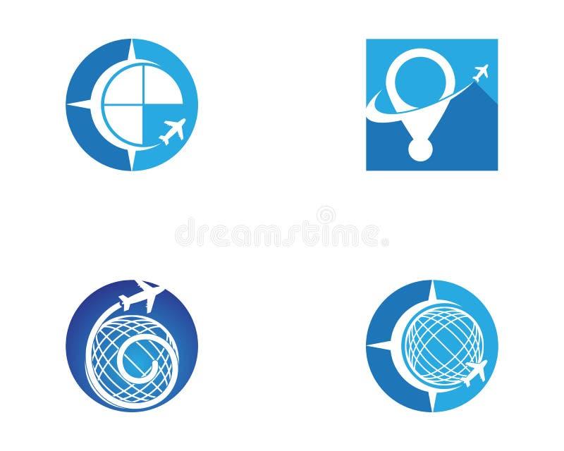 Vector de illustratiezaken van het reis snellere pictogram vector illustratie