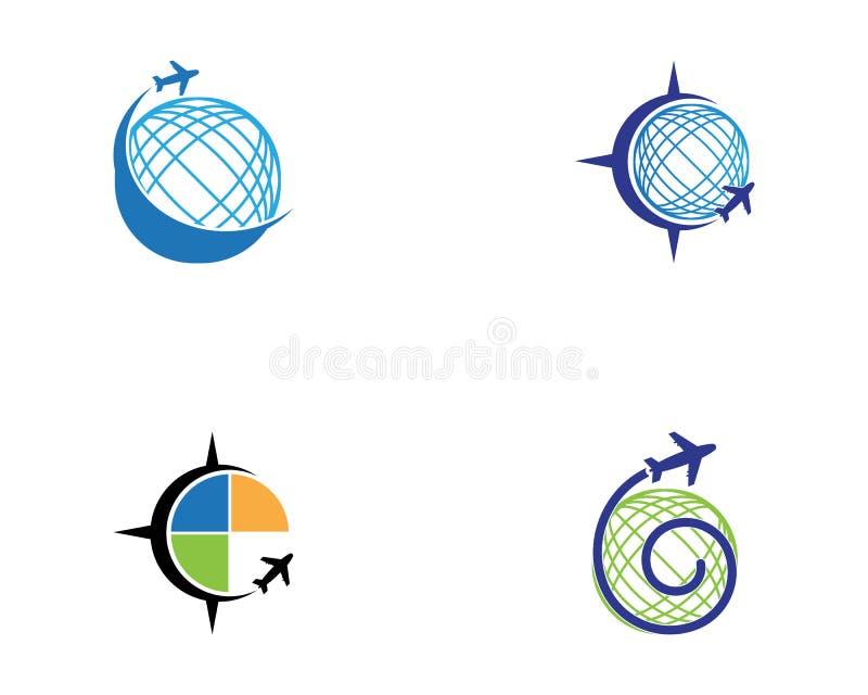 Vector de illustratiezaken van het reis snellere pictogram royalty-vrije illustratie