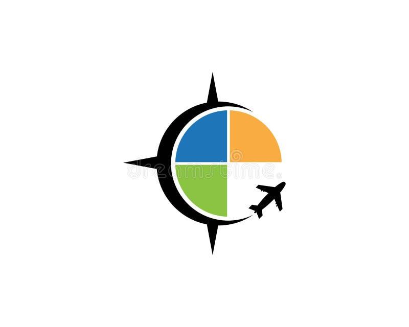 Vector de illustratiezaken van het reis snellere pictogram stock illustratie
