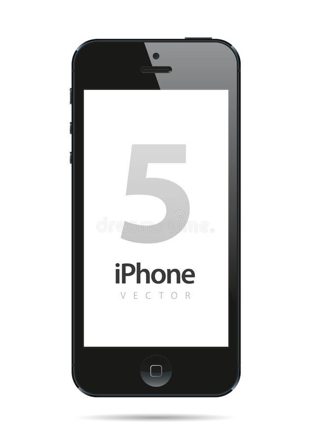 Vector de Iphone 5 stock de ilustración