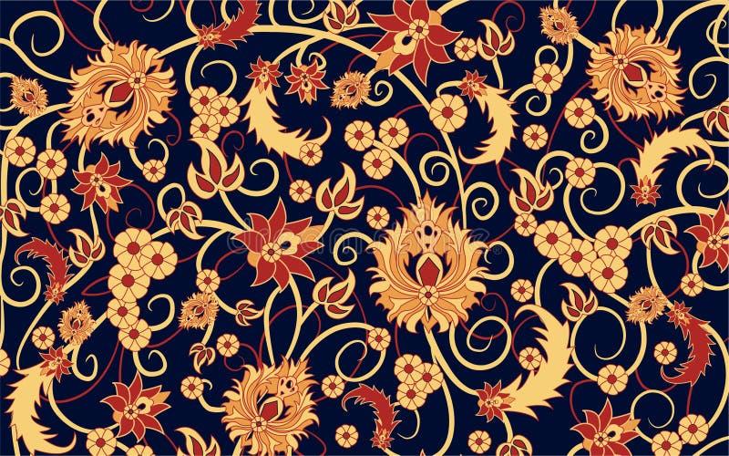 Vector de la alfombra stock de ilustración
