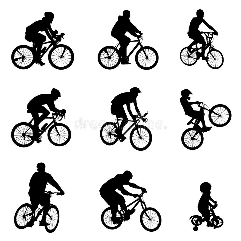 Vector de la bicicleta ilustración del vector