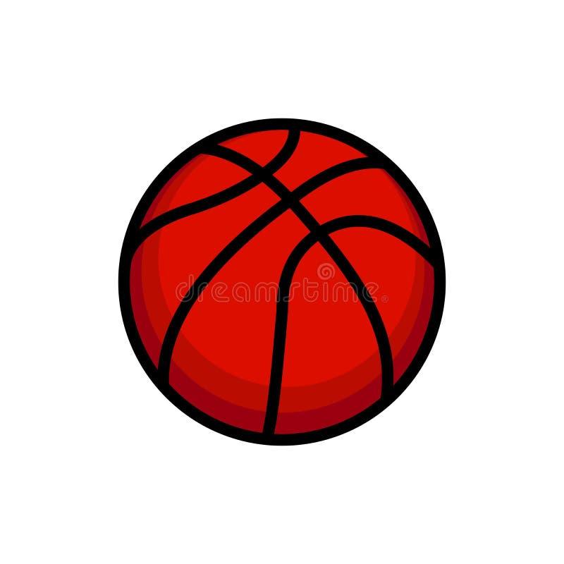 Vector de la bola de la cesta libre illustration