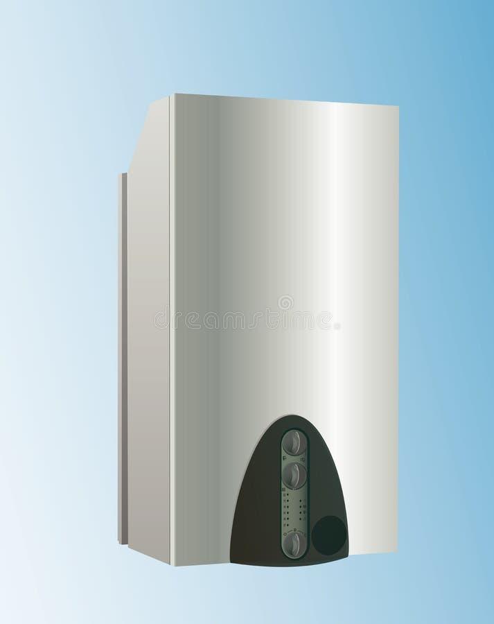 Vector de la caldera de la calefacción stock de ilustración