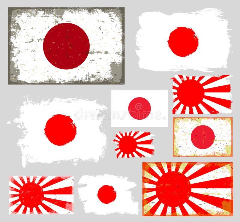 Contemporáneo Plantilla De Bandera Japonesa Viñeta - Colección De ...