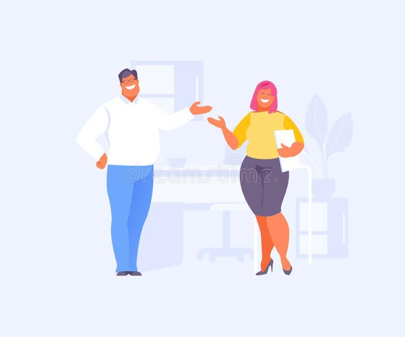 Vector de la comunicación de oficina libre illustration