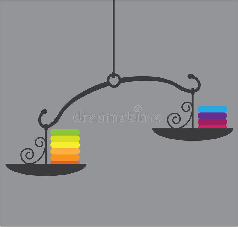 Vector de la escala stock de ilustración