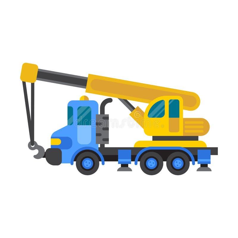 Vector de la industria de la casa de la grúa de construcción libre illustration