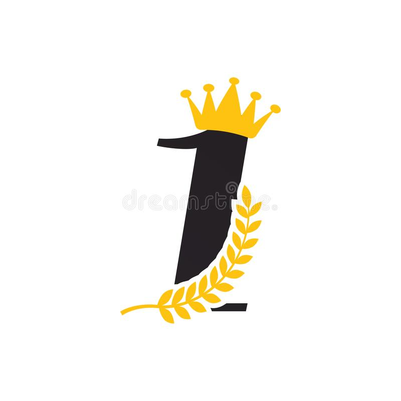 Vector de la plantilla del diseño gráfico del icono de la estrella del ganador libre illustration