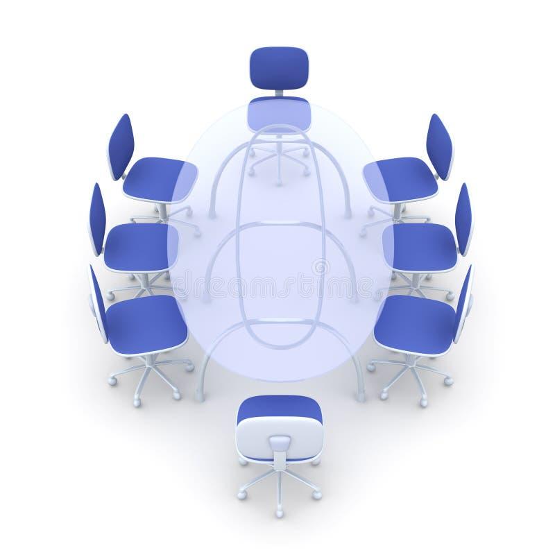 Vector de la sala de reunión libre illustration