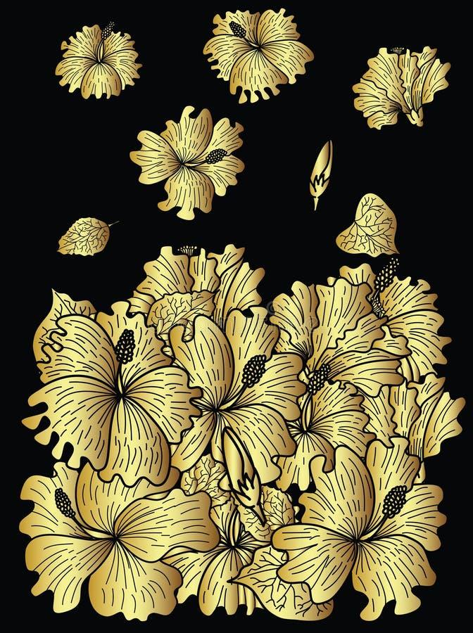 Vector de la serpiente y diseño japoneses del ejemplo en el fondo blanco ilustración del vector