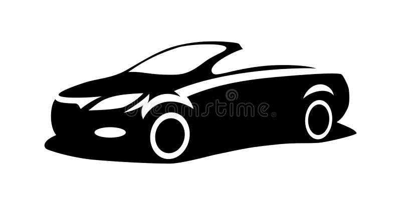 Vector de la silueta del coche libre illustration