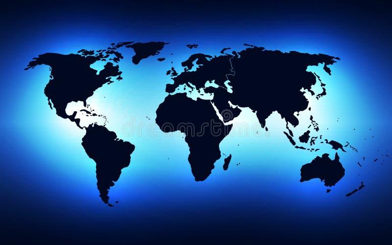 Vector de la solución de la tecnología del fondo del extracto del negocio global, ejemplo libre illustration