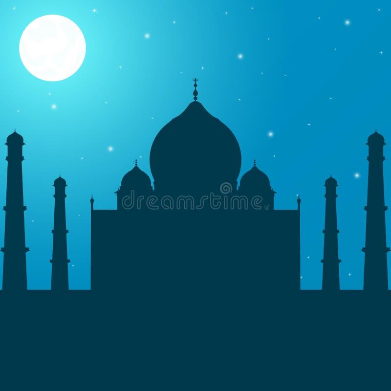 Vector de la tarjeta de felicitación de Ramadan Kareem libre illustration