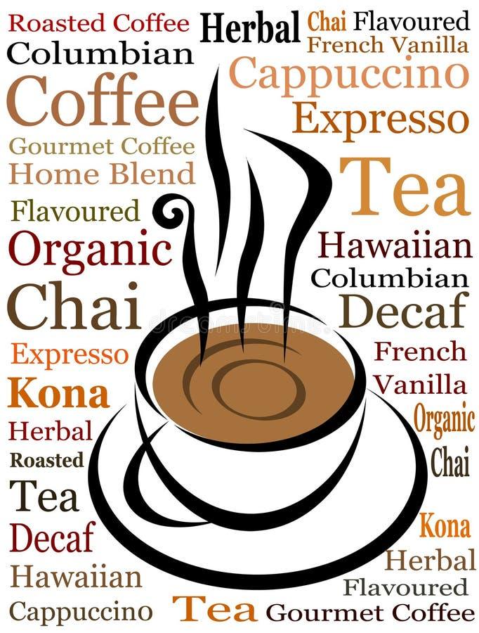 Vector de la taza de café stock de ilustración