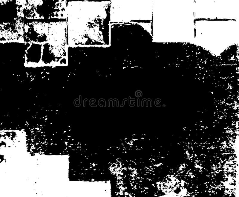 Vector de la textura de la capa de la suciedad del Grunge del bosquejo stock de ilustración