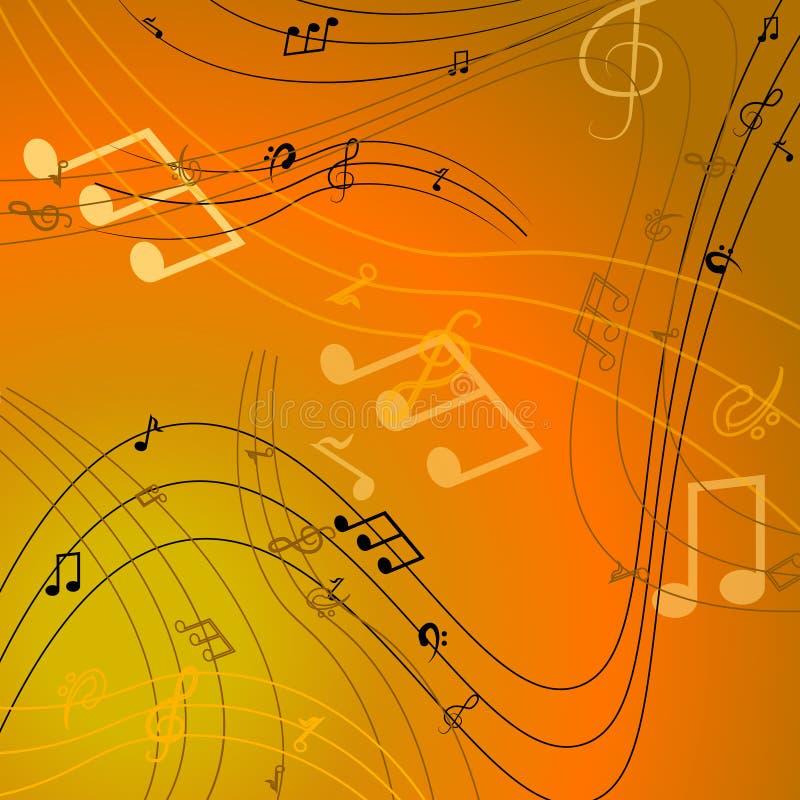 Vector de las notas musicales del vector libre illustration