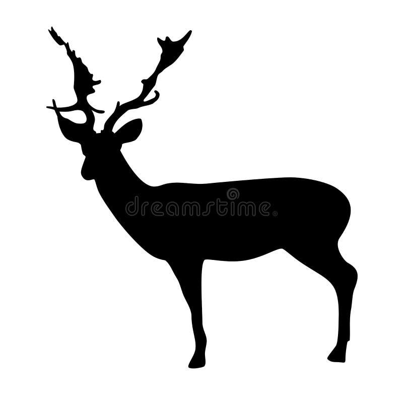 Vector de los ciervos ilustración del vector