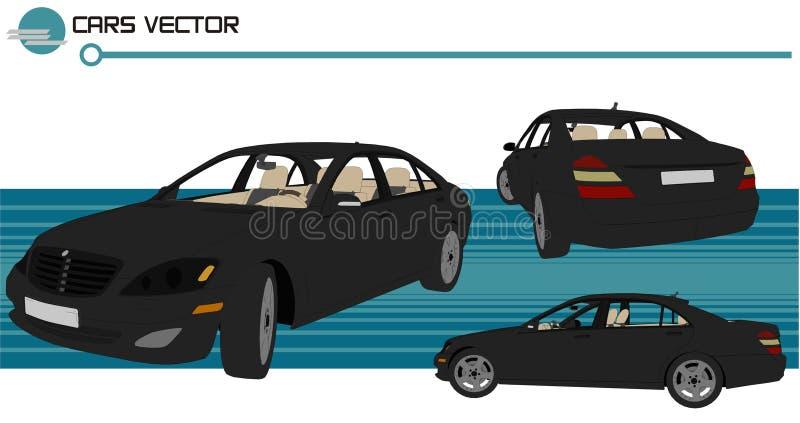 Vector de los coches ilustración del vector