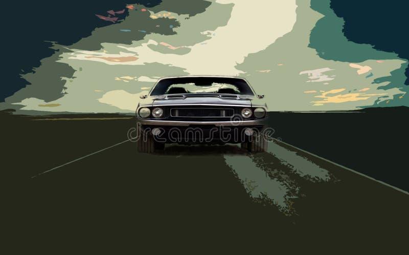 Vector de los coches imagen de archivo libre de regalías